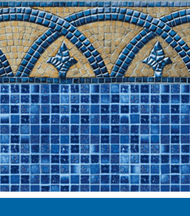 Bourbon St. Plaza pool liner image