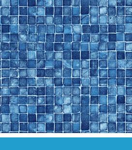 Mosaic pool liner image