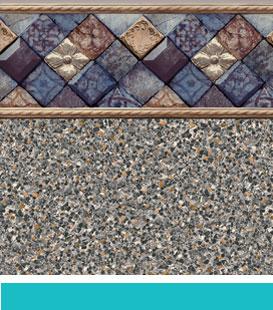 park ave sandstone pool liner image