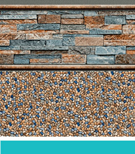 pedra fe del caribe pool liner image