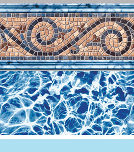 Siesta Wave Diffusion pool liner image